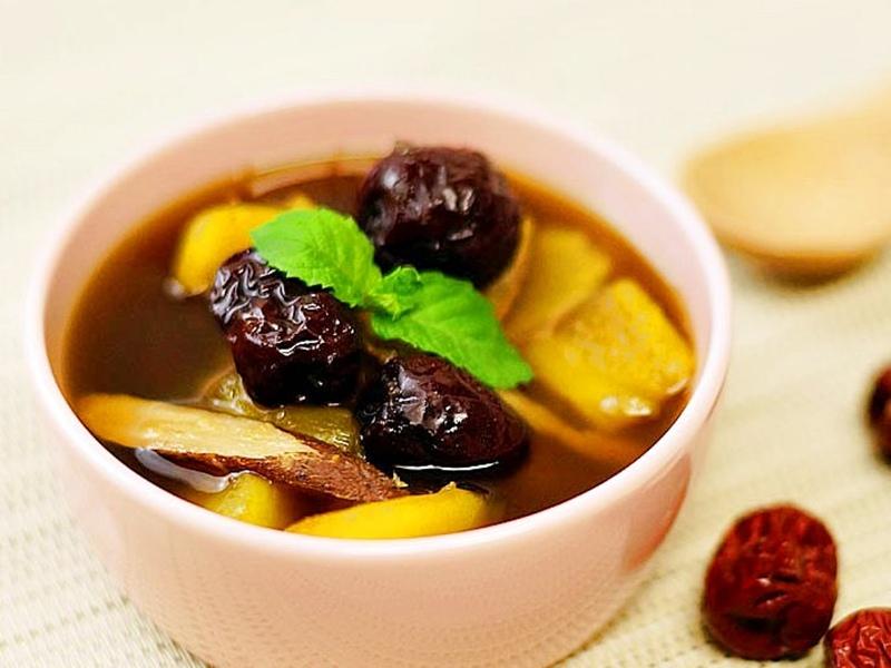 食譜-防感地瓜湯