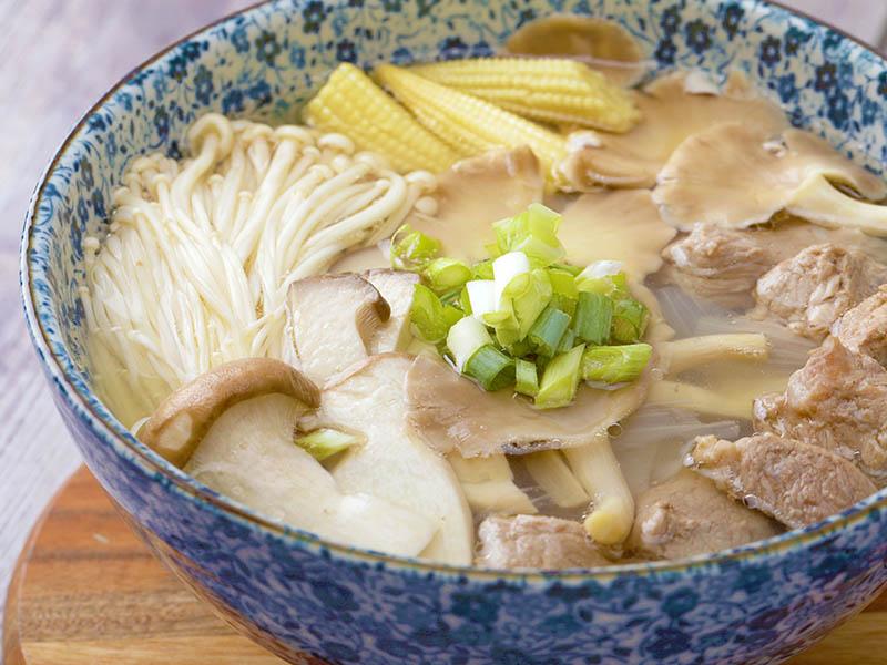 食譜-豬肉菇菇湯