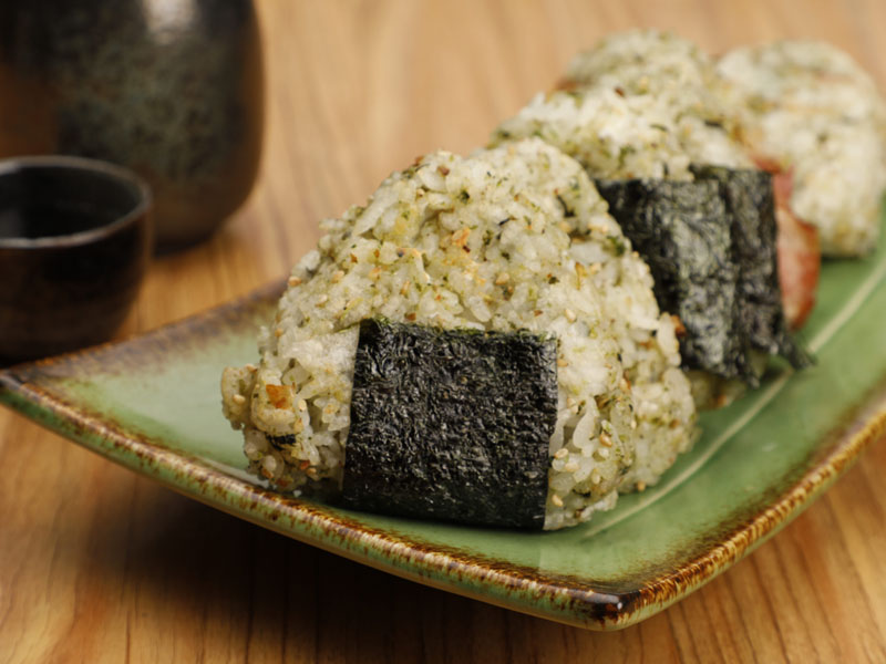 食譜-海苔香鬆烤飯糰