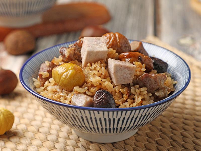 食譜-芋香栗子炊飯