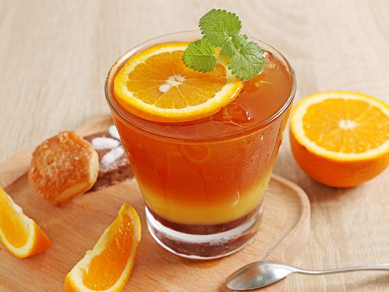 食譜-橘色夕陽