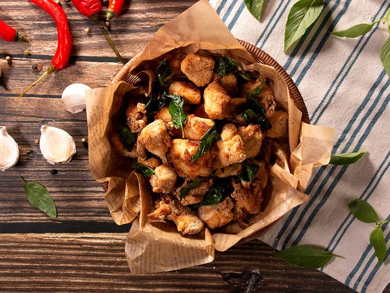 食譜-氣炸鹹酥雞