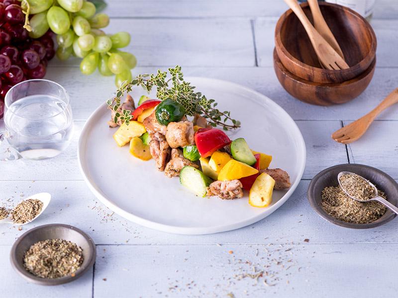 食譜-雞肉時蔬溫沙拉