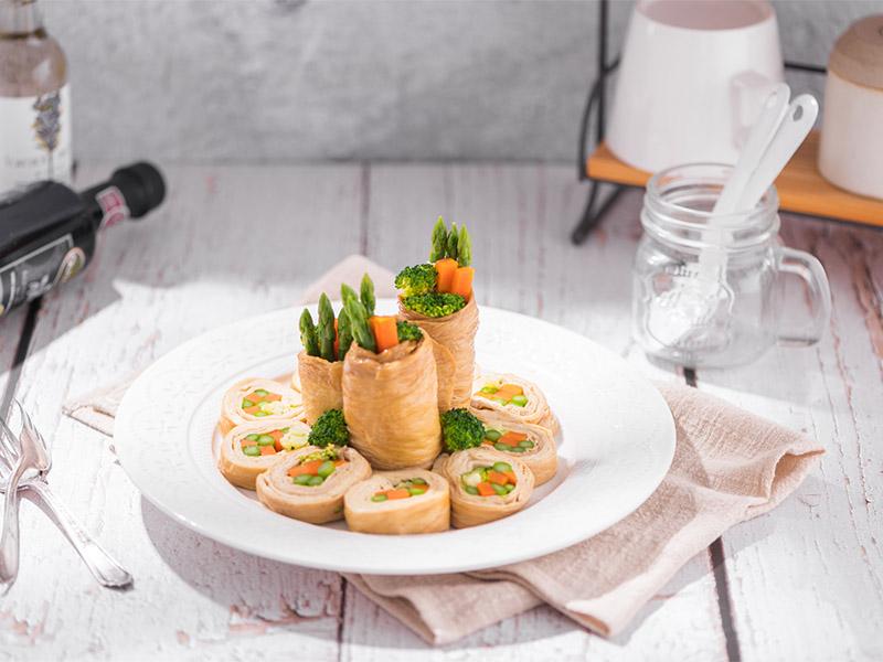 食譜-蔬食豆包